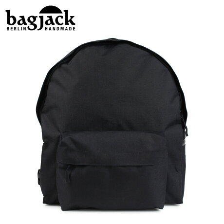 bagjack バッグジャック リュック バックパック メンズ レディース DAYPACK CLASSIC S ブラック [予約 1/22 再入荷予定]
