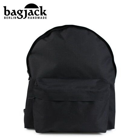 bagjack バッグジャック リュック バックパック メンズ レディース DAYPACK CLASSIC M ブラック [予約 1/22 再入荷予定]