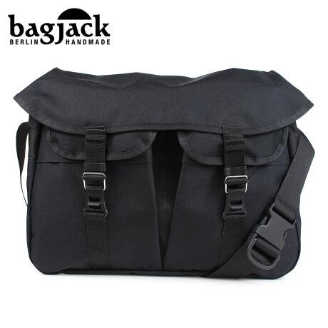 bagjack バッグジャック メッセンジャーバッグ ショルダーバッグ メンズ レディース HNTR BAG ブラック [予約 1/22 再入荷予定]