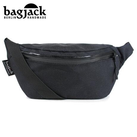 bagjack バッグジャック ヒップバッグ ウエストバッグ メンズ レディース CLASSICS HIPBAG ブラック [予約 1/22 再入荷予定]