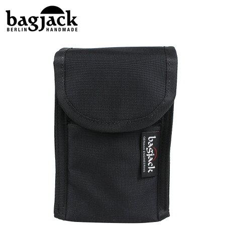 bagjack バッグジャック ポーチ 小物入れ ベルトポーチ メンズ レディース NEXT LEVEL STEALTH TEC CARGO BAG ブラック [予約 1/22 再入荷予定]