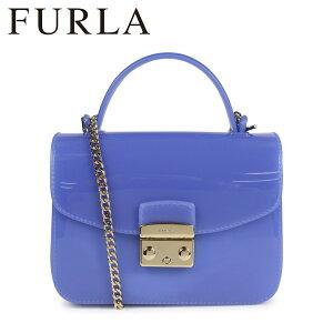 FURLA フルラ バッグ ショルダーバッグ レディース CANDY MERINGA MINI SHOULDER BAG ブルー 961667