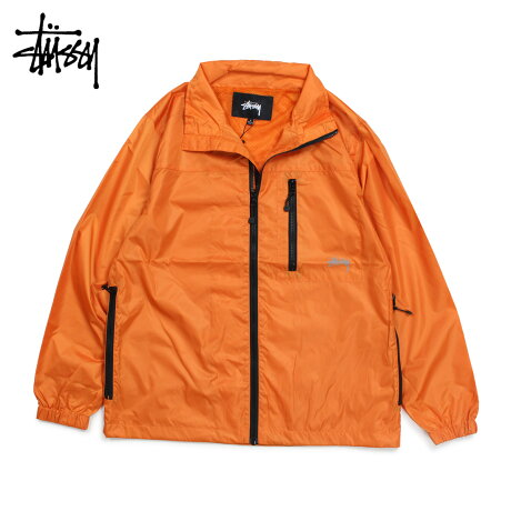STUSSY ステューシー ジャケット ブルゾン メンズ MICRO RIP JKT オレンジ 115404