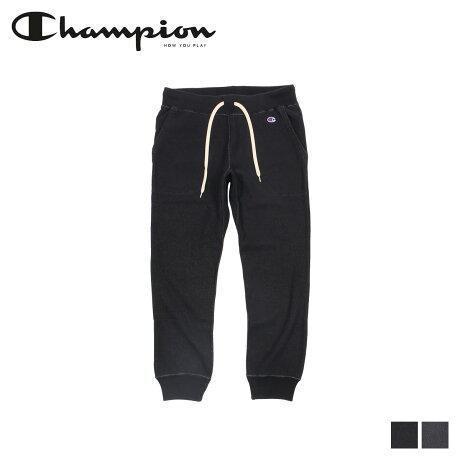 チャンピオン Champion スウェットパンツ リバースウィーブ メンズ REVERSE WEAVE SWEATPANT ブラック チャコール グレー 黒 C3-N202 [8/19 新入荷]