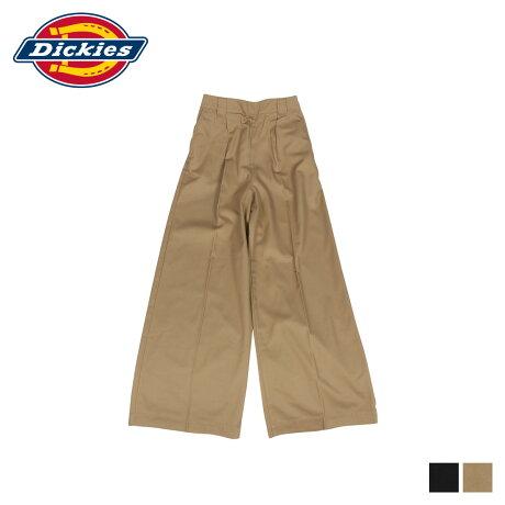 ディッキーズ Dickies パンツ ワイドパンツ ワークパンツ レディース WIDE PANT ブラック ベージュ 黒 DK006680 [10/9 新入荷]