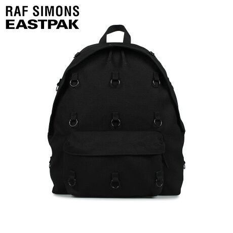 ラフ シモンズ RAF SIMONS イーストパック EASTPAK リュック バッグ バックパック パッド ループ メンズ レディース 30.5L PADDED LOOP コラボ ブラック 黒 EK91E [10/7 新入荷]