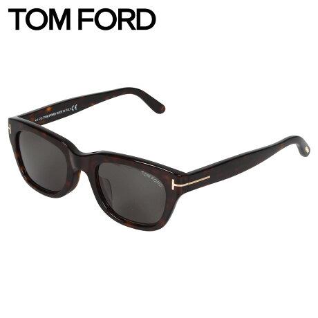 トムフォード TOM FORD サングラス メンズ レディース アジアンフィット ウェリントン アイウェア SNOWDON ブラウン FT0237-F 52N [10/15 新入荷]