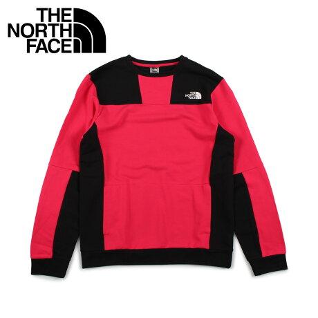ノースフェイス THE NORTH FACE トレーナー スウェット メンズ U RAGE GRAPHIC CREW ピンク T93XXE [10/17 新入荷]