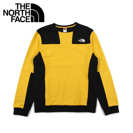ノースフェイス THE NORTH FACE トレーナー スウェット メンズ U RAGE GRAPHIC CREW イエロー T93XXE [10/17 新入荷]