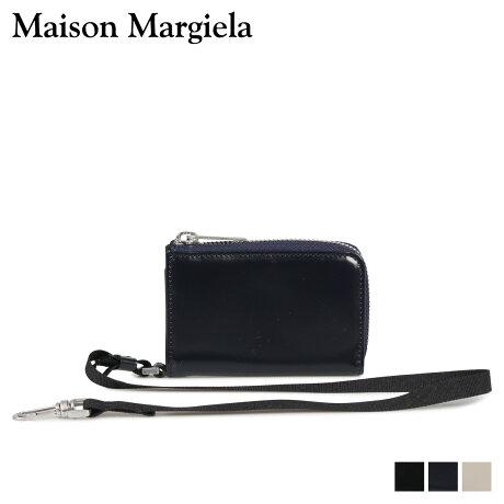 メゾンマルジェラ MAISON MARGIELA 財布 コインケース 小銭入れ メンズ レディース L字ファスナー COIN CASE レザー ブラック ダーク ネイビー ベージュ 黒 S55UI0200 P2714 [10/9 新入荷]