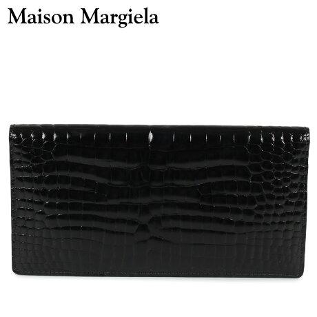 メゾンマルジェラ MAISON MARGIELA 財布 長財布 メンズ LONG WALLET レザー ブラック 黒 S55UI0202 P0195 [10/8 新入荷]