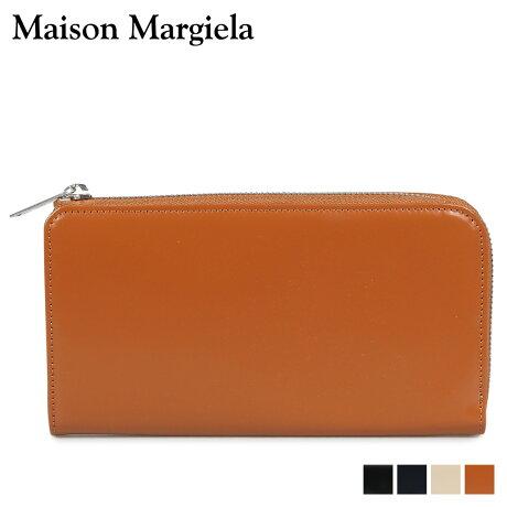 メゾンマルジェラ MAISON MARGIELA 財布 長財布 メンズ レディース L字ファスナー LONG WALLET レザー ブラック ネイビー ベージュ ブラウン 黒 S35UI0431 P2714 [10/8 新入荷]