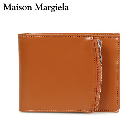 メゾンマルジェラ MAISON MARGIELA 財布 二つ折り メンズ レディース BI-FOLD WALLET レザー ブラウン S35UI0436 P2714 [10/9 新入荷]