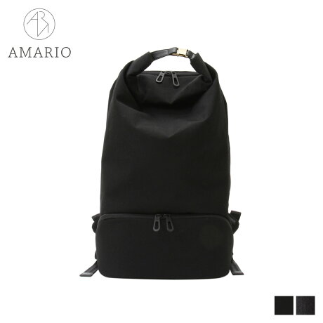 AMARIO アマリオ リュック バッグ バックパック メンズ レディース 32L CULM BACKPACK 15 ブラック グレー 黒 CRUMBP15 [予約商品 10/15頃入荷予定 新入荷]