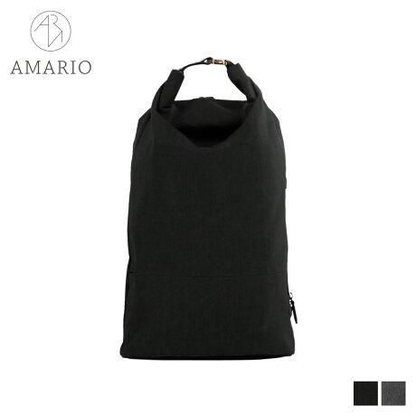 AMARIO アマリオ リュック バッグ バックパック メンズ レディース 15L CULM DAYPACK ブラック グレー 黒 CRUMDP [予約商品 10/15頃入荷予定 新入荷]