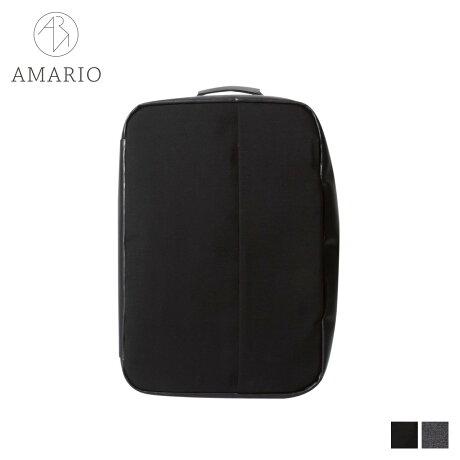 AMARIO アマリオ リュック バッグ バックパック ブリーフケース ショルダー メンズ 14.6L 3WAY HACO 15 ブラック グレー 黒 HACO15 [予約商品 10/15頃入荷予定 新入荷]
