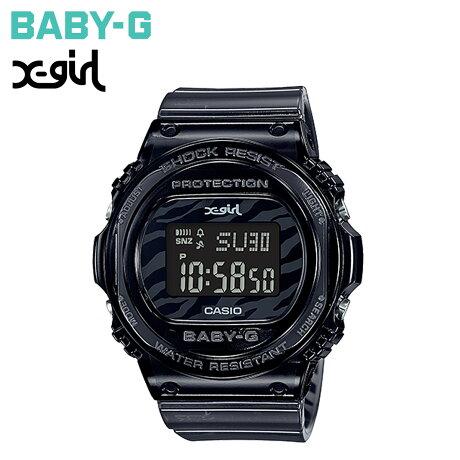 カシオ CASIO BABY-G X-girl エックスガール 腕時計 BGD-570XG-8JR 25周年 限定 コラボ ベビージー ベビーG G-ショック レディース ブラック 黒 [9/27 再入荷]