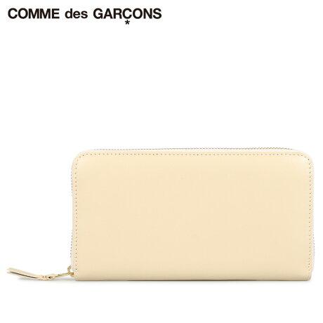 コムデギャルソン COMME des GARCONS 財布 長財布 メンズ レディース ラウンドファスナー 本革 CLASSIC WALLET オフ ホワイト SA0111 [予約商品 10/10頃入荷予定 新入荷]