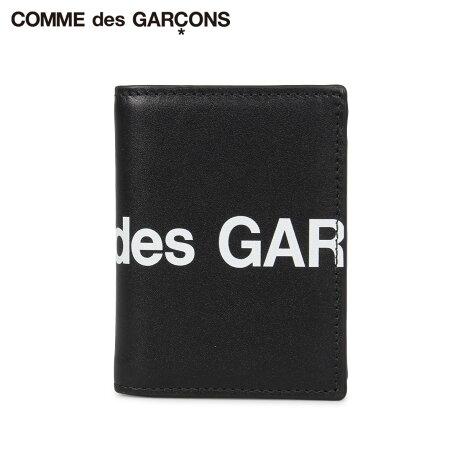 コムデギャルソン COMME des GARCONS 財布 二つ折り メンズ レディース 本革 HUGE LOGO WALLET ブラック 黒 SA0641HL [予約商品 10/10頃入荷予定 新入荷]