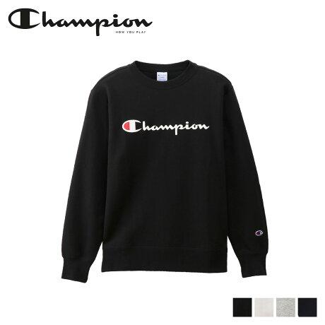チャンピオン Champion トレーナー スウェット メンズ レディース ロゴ CLEW NECK SWEAT ブラック ホワイト グレー ネイビー 黒 白 C3-Q002 [予約商品 10/16頃入荷予定 新入荷]