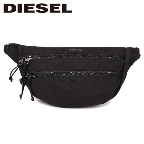 ディーゼル DIESEL バッグ ボディバッグ ウエストバッグ ショルダーバッグ メンズ F-URBHANITY BUMBAG ブラック 黒 X05120 P1516 [9/12 新入荷]