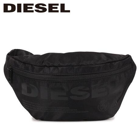 ディーゼル DIESEL バッグ ボディバッグ ウエストバッグ メンズ F-SUSE BELT ブラック 黒 X06090 P2249 [9/12 新入荷]