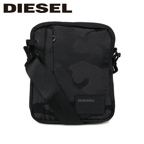 ディーゼル DIESEL バッグ ショルダーバッグ メンズ レディース ODERZO ブラック 黒 X06266 P2084 [9/12 新入荷]