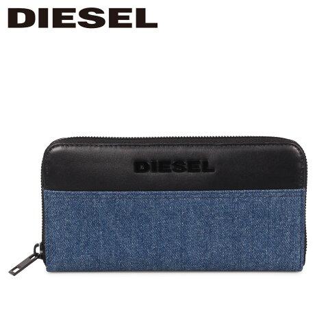 ディーゼル DIESEL 財布 長財布 メンズ ラウンドファスナー 本革 24 ZIP TOLLE ブルー X06320 P2553 [9/12 新入荷]