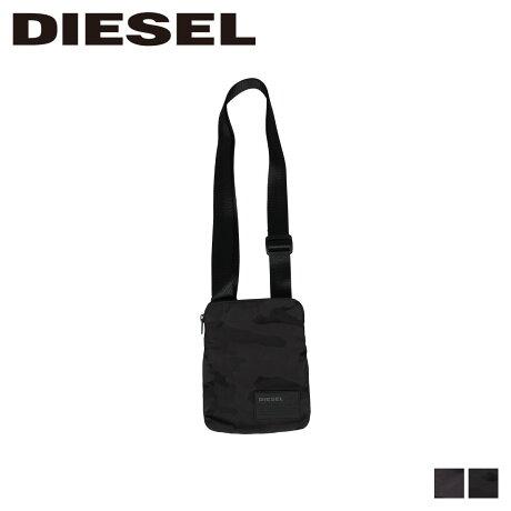 ディーゼル DIESEL バッグ ショルダーバッグ メンズ レディース F-DISCOVER CROSS ブラック ブラックカモ 黒 X06343 P2084 PR230 [9/12 新入荷]