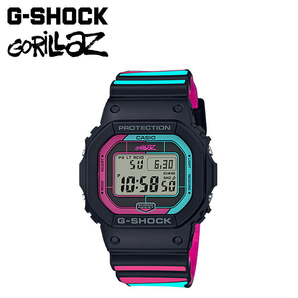 CASIOカシオG-SHOCKGorillazゴリラズ腕時計GW-B5600GZ-1JRコラボジーショックGショックG-ショック