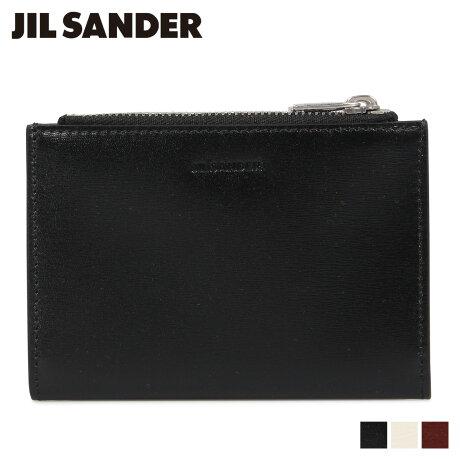 ジルサンダー JIL SANDER 財布 二つ折り メンズ 本革 VERTICAL ZIP WALLET ブラック オフ ホワイト ブラウン 黒 JSMP840074 MPS00015N [予約商品 9/20頃入荷予定 新入荷]