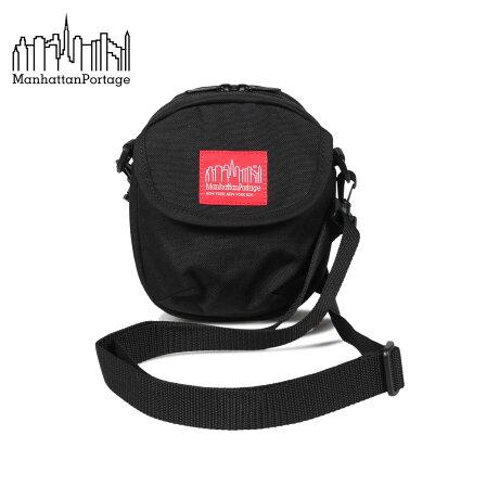 マンハッタンポーテージ Manhattan Portage バッグ ショルダーバッグ メンズ レディース HUDSON BAG XS ブラック 黒 1402 [9/10 新入荷]