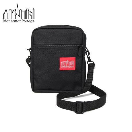 マンハッタンポーテージ Manhattan Portage バッグ ショルダーバッグ メンズ レディース CITY LIGHT XS ブラック 黒 1403 [9/10 新入荷]