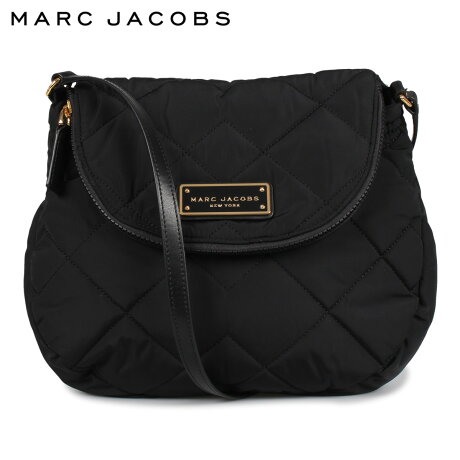マークジェイコブス MARC JACOBS バッグ ショルダーバッグ レディース QUILTED NYLON MESSENGER BAG CROSSBODY ブラック 黒 M0011324 [9/24 新入荷]