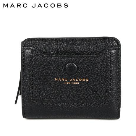 マークジェイコブス MARC JACOBS 財布 二つ折り レディース 本革 MINI COMPACT WALLET ブラック 黒 M0014215 [9/24 新入荷]