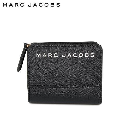 マークジェイコブス MARC JACOBS 財布 二つ折り レディース MINI COMPACT WALLET ブラック 黒 M0015163 [9/24 新入荷]
