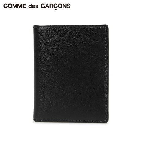 コムデギャルソン COMME des GARCONS 財布 二つ折り メンズ レディース 本革 CLASSIC WALLET ブラック 黒 SA0641 [予約商品 10/10頃入荷予定 新入荷]