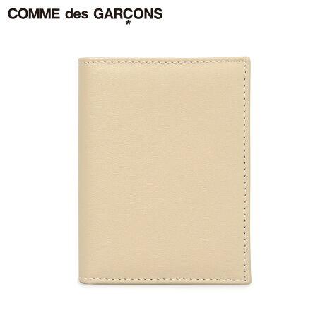 コムデギャルソン COMME des GARCONS 財布 二つ折り メンズ レディース 本革 CLASSIC WALLET オフ ホワイト SA0641 [予約商品 10/10頃入荷予定 新入荷]