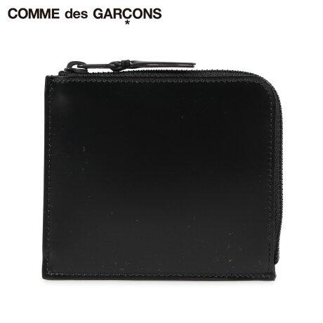 コムデギャルソン COMME des GARCONS 財布 ミニ財布 メンズ レディース L字ファスナー 本革 VERY BLACK WALLET ブラック 黒 SA3100VB [予約商品 10/10頃入荷予定 新入荷]