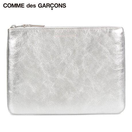 コムデギャルソン COMME des GARCONS 財布 小銭入れ コインケース メンズ レディース 本革 GOLD AND SILVER COIN CASE シルバー SA5100G [予約商品 10/10頃入荷予定 新入荷]