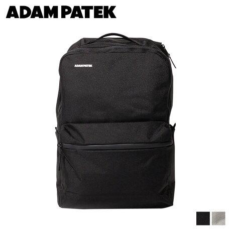 アダムパテック ADAM PATEK バッグ リュック バックパック メンズ レディース BOISE SQUARE PACK ブラック グレー 黒 AMPK-B042