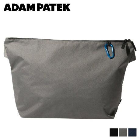 アダムパテック ADAM PATEK バッグ ショルダーバッグ メンズ レディース RUSSELL BIG SHOULDER BAG ブラック グレー ネイビー 黒 AMPK-B043 [予約 2/21 追加入荷予定]