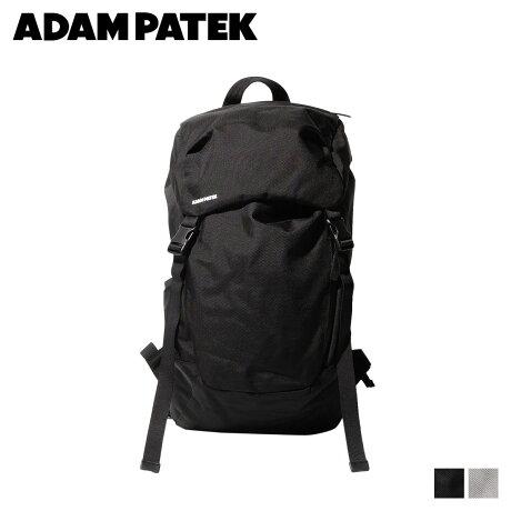 アダムパテック ADAM PATEK バッグ リュック バックパック メンズ レディース LENTS FLAP BACKPACK ブラック グレー 黒 AMPK-B045