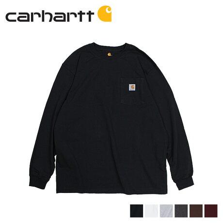 カーハート carhartt Tシャツ メンズ 長袖 ロンT WORKER POCKET LS T-SHIRTS K126 [予約 1/28 追加入荷予定]