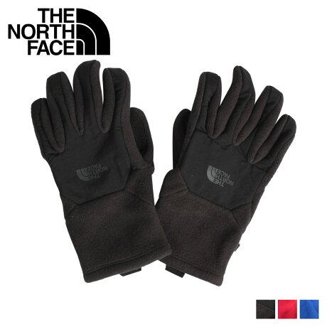 THE NORTH FACE ノースフェイス デナリ 手袋 グローブ メンズ スマートフォン対応 MENS DENALI ETIP GLOVE ブラック レッド ブルー 黒 NF0A3KP5