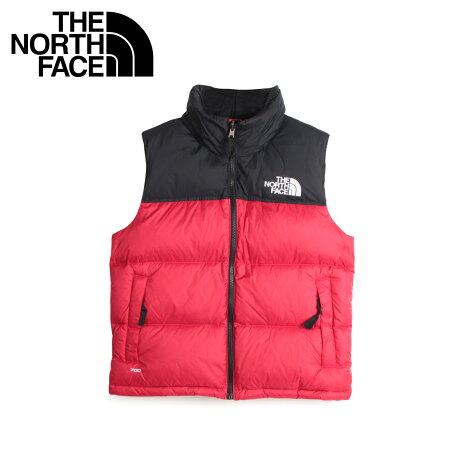 THE NORTH FACE ノースフェイス レトロ ヌプシ ダウンベスト ベスト レディース WOMENS 1996 RETRO NUPTSE VEST 2 レッド NF0A3XEP
