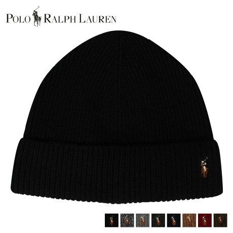 POLO RALPH LAUREN ポロ ラルフローレン ニット帽 ニットキャップ ビーニー メンズ KNIT CAP ブラック ブラックマールクリーム グレー チャコール ネイビー ブラウン レッド グリーン PC0490