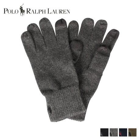 POLO RALPH LAUREN ポロ ラルフローレン 手袋 グローブ メンズ GLOVES ブラック チャコール ネイビー オリーブ 黒 PC0493