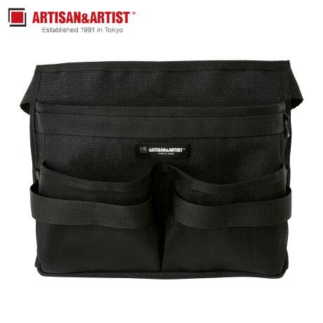 アルティザン&アーティスト ARTISAN&ARTIST ボディバッグ バッグ ウエストバッグ ボディバッグ レディース MAKEUP ARTIST&PROFESSIONALS ブラック 黒 7WM-PF311 [1/30 新入荷]