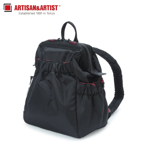 アルティザン&アーティスト ARTISAN&ARTIST リュック バッグ バックパック レディース CLASP STANDARD ブラック 黒 KG2-604 [1/30 新入荷]